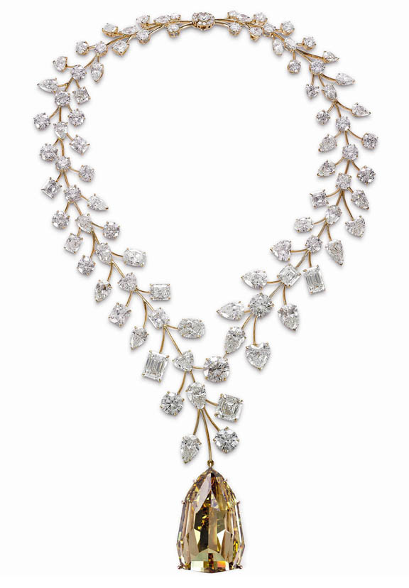 1 000 carat necklace highlighted by l in parable a 407