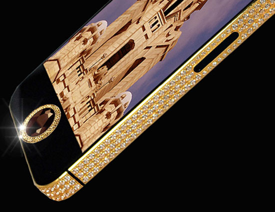 The world's most expensive iPhone 5 worth $15 million sports a large flawless black diamond
