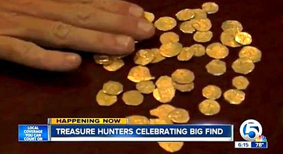 Susan Eisen's Blog: Florida Treasure Hunters Score 48