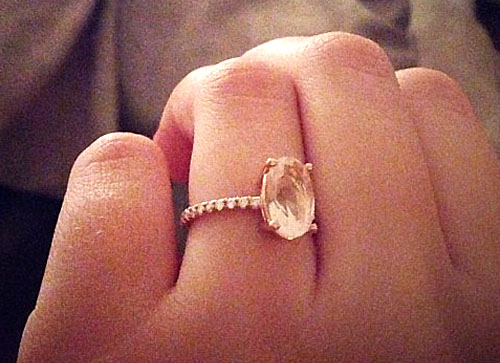 rose gold context quartz cocktail rings ring wedding diamond p large