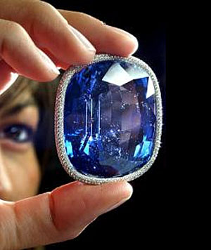 Blue Giant Of The Orient The World S Largest Faceted
