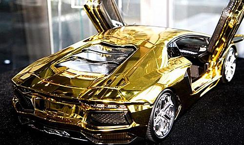 $7.5M Scale Model of Lamborghini Aventador Is Fashioned ...