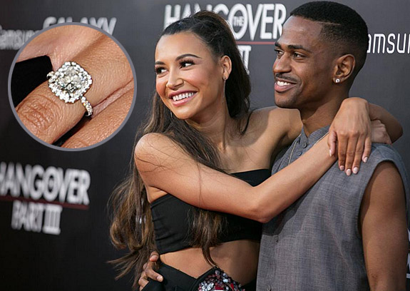 "rapper dating glee star Big sean recently confirmed his relationship with glee  rapper fondles stripper after confirming relationship with 'glee' star  ""naya, i been dating ."