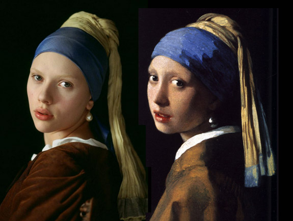 Crowds clamor to get a glimpse of vermeer s girl with a for Johannes vermeer girl with a pearl earring