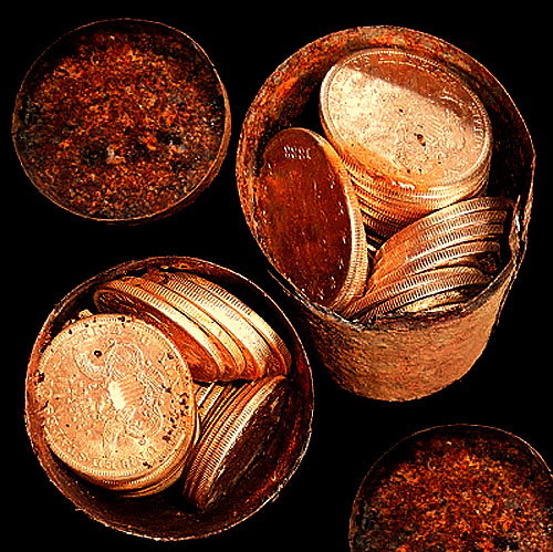 1,427 Gold Coins Unearthed On Calif. Couple's Property May