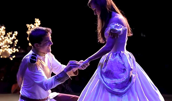 Mississippi Prince Charming Reenacts Scene From Cinderella To