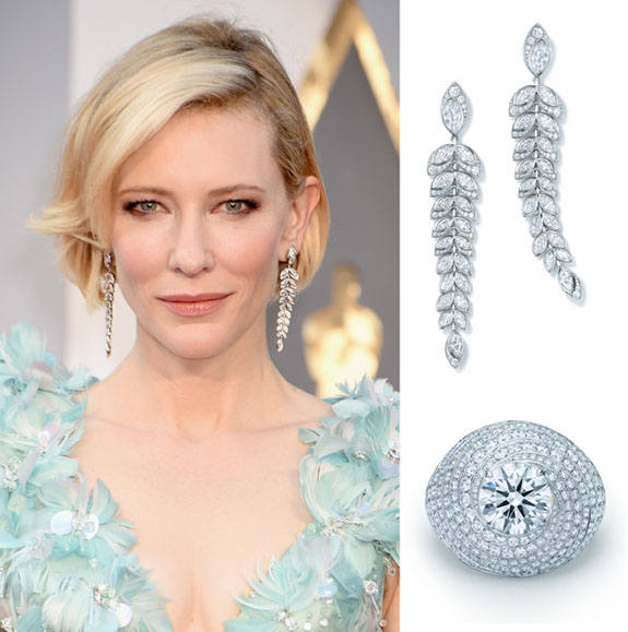 Susan eisen 39 s blog platinum jewelry illuminates the red for Jewelry at the oscars 2016