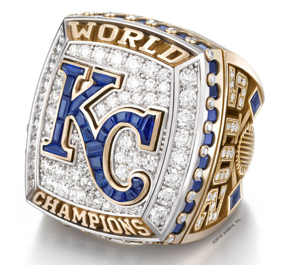 Kansas city royals 39 world series bling signals a return to for High design jewelry nyc