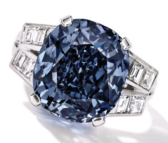 """The Shirley Temple Blue Diamond is an exceptional stone in quality 27e0c627f"