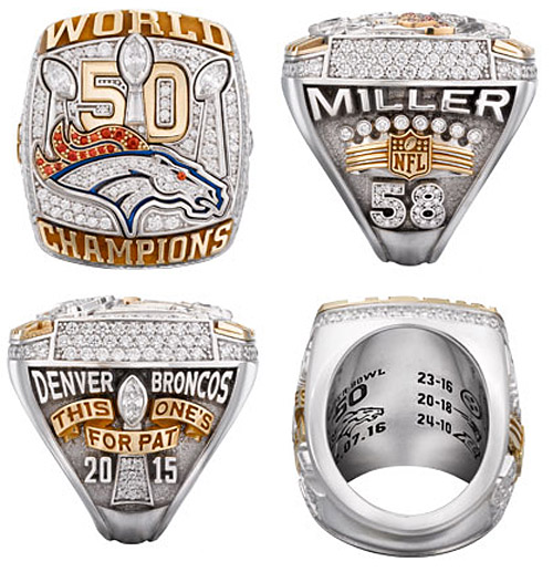 Super Bowl Rings In Carats