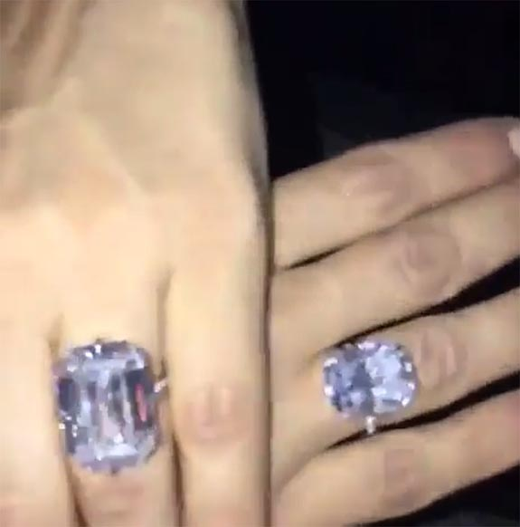 Kim Kardashian Gets Flawless 20 Carat Stunner To Complement Her 15 Carat Engagement Diamond Matthew Erickson Jewelers