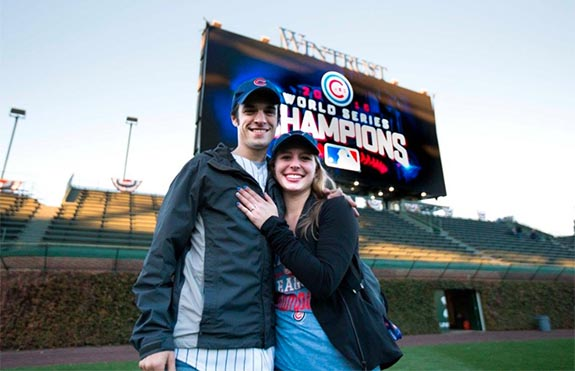 2232b4db98e In explaining his motivation for popping the question at Wrigley Field