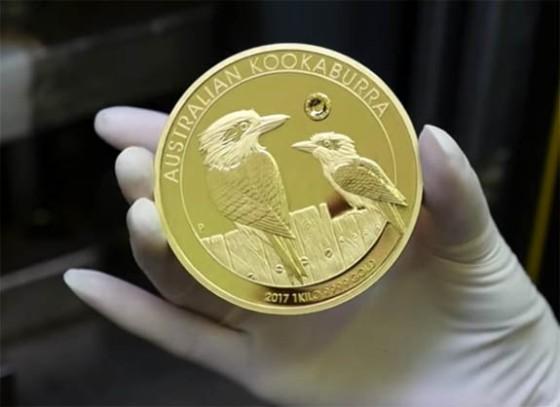 Resultado de imagen para kookaburra coin with diamonds argyle
