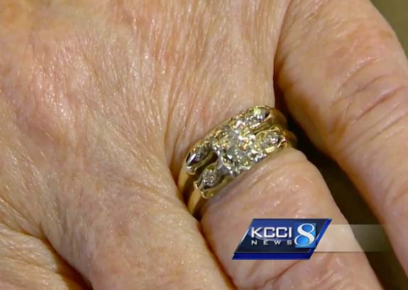 Engagement Ring Lost While Baking Cookies Turns Up 50 Years Later
