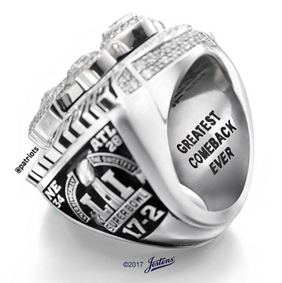 Biggest Championship Rings Ever