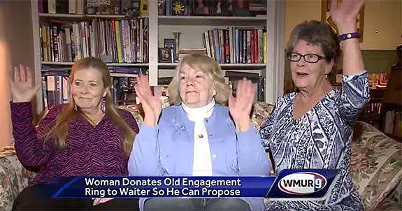 N H  Granny Gives Up Her Own Engagement Ring So Young Waiter
