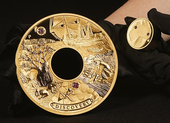 $1 7 Million 'Discovery' Coin Pays Tribute to Early Prospectors of