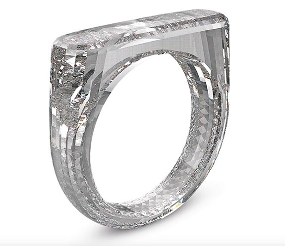 all diamond ring crafted from a single rough gem may fetch. Black Bedroom Furniture Sets. Home Design Ideas