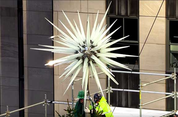 Rockefeller Center Christmas Tree S New Crown Jewel Sparkles With 3