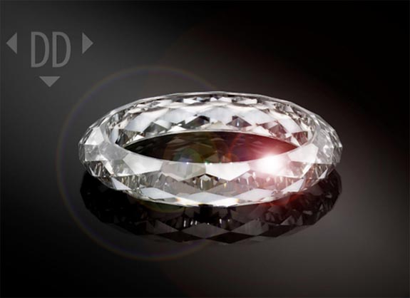 Dutch Tech Company Creates 133 Facet All Diamond Ring To Mark Its