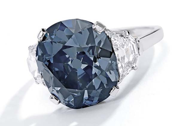 Nathis Wear Blue Stone Ring