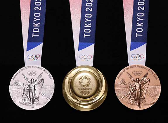 With Tokyo Games In Jeopardy Medal Design Recycling Efforts May Have Been In Vain Jayson Miller Fine Jewelry